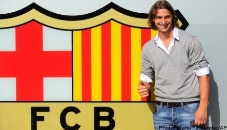 Ibrahimovic poised to sign for Barcelona