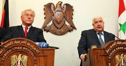 Steinmeier urges Syria to back mideast peace