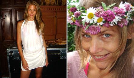 Ex-model brings feminine touch to fashion week
