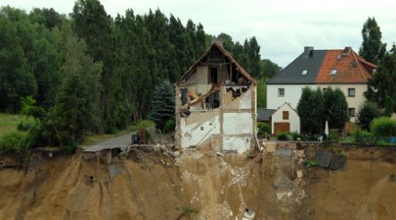 Officials warn of more landslides around lake