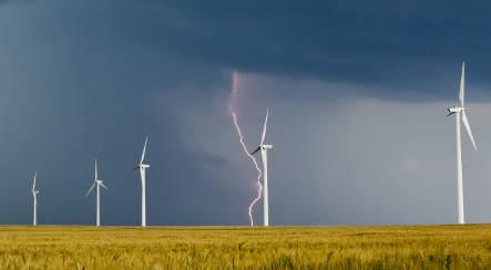 Record lightning strikes Germany