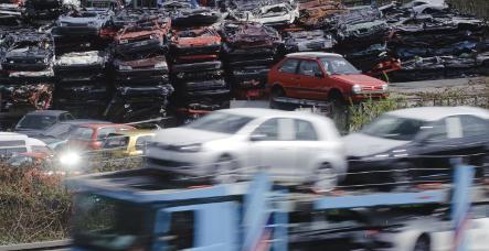Car companies fear downturn after scrap-bonus boom