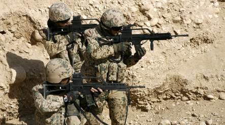 Bundeswehr shooting restrictions eased