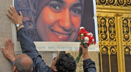 Dresden hopes to honour murdered 'veiled martyr'