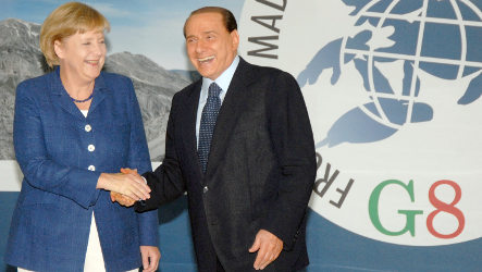 Merkel hails G8 climate change as 'step forward'