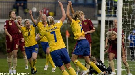 Sweden score three in dream Euro 2009 opener
