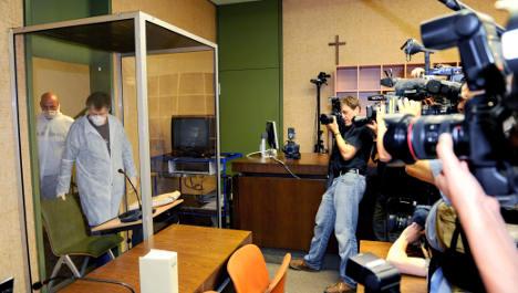 Accused paedophile guru Shanti faces trial from glass box