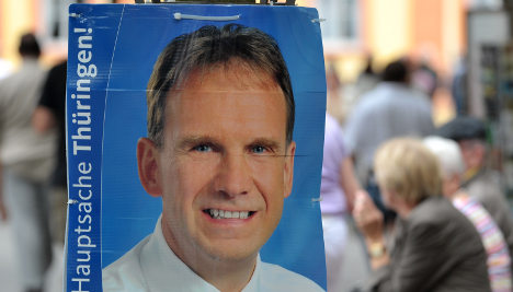 Althaus will keep dead woman out of campaign