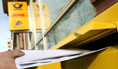 Deutsche Post slacking off, customers complain