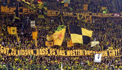 Borussia Dortmund's stadium ranked best in the world