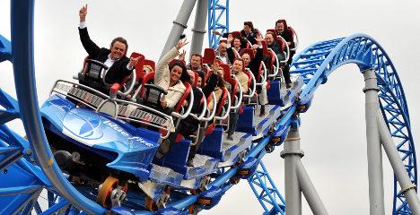 Amusement parks report thrilling sales despite crisis