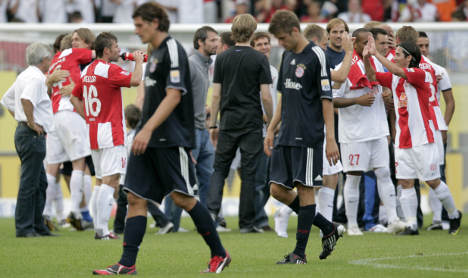 Bayern suffers nightmare 2-1 defeat at Mainz