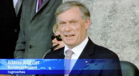 German TV gets president's name wrong