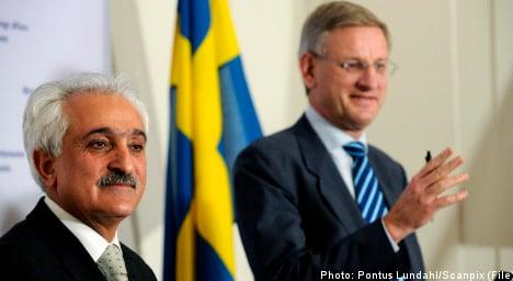 Bildt to Afghanistan for talks