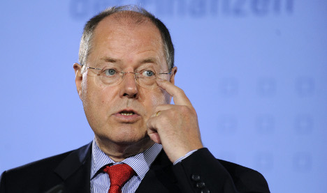 Steinbrück mulling state loans to combat credit crunch