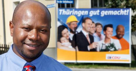 Neo-Nazi party tells black CDU member to 'go home'