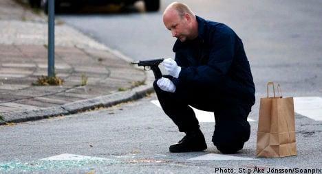 Man held after Malmö shooting
