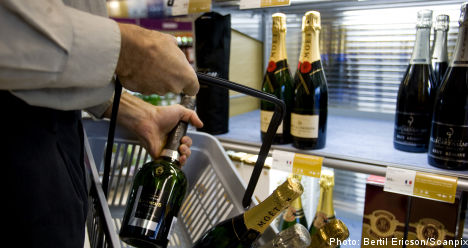 Sales up at Swedish state liquor stores
