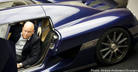 Koenigsegg buys Saab