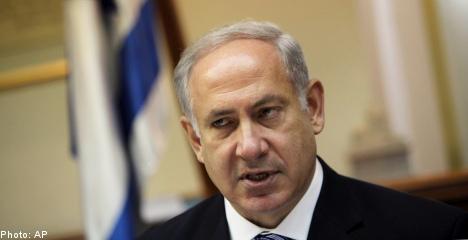 Israel presses Sweden for 'condemnation'