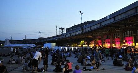 Berlin Festival takes off at Tempelhof Airport