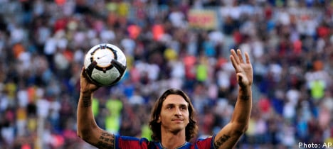 Ibrahimovic to face Man City in Barcelona debut