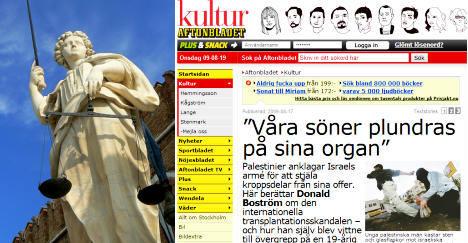 Swedish tabloid sued in New York