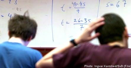 Many Swedish students failing maths: report