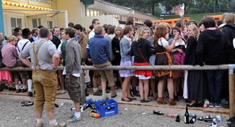 Oktoberfest opens to massive crowds