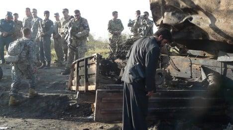 Berlin calls air strike in Afghanistan 'necessary'