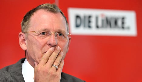 Leftist leader in Thuringia employing ex-Stasi officer as secretary
