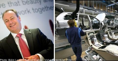 Volvo Cars celebrates upswing in sales