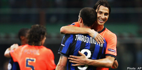 Ibrahimovic shines in Inter stalemate