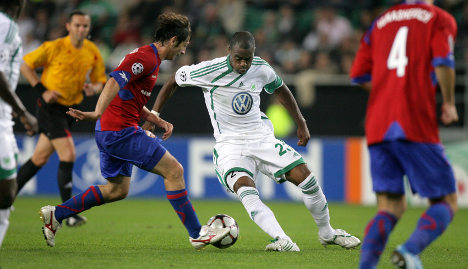 Wolfsburg's Grafite scores hat trick in Champions League debut