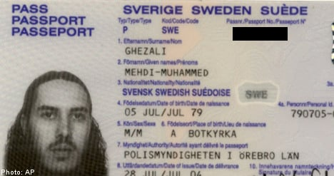 Terror suspect Swedes still detained: Pakistan