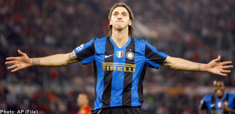 Zlatan's boasting draws fire from former Inter teammate