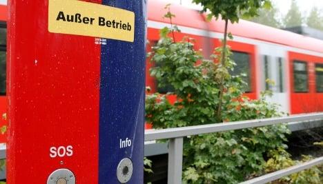 Emergency phone at site of Munich S-Bahn beating was broken