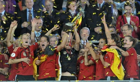 Germany crush England to win women's Euro title