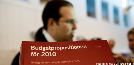 Budget bill sees Sweden shedding more jobs