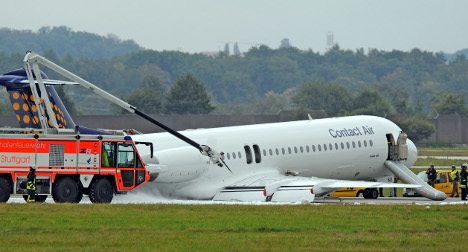 Plane with SPD boss makes crash landing