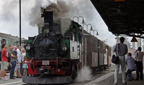 Steam train collision injures 52