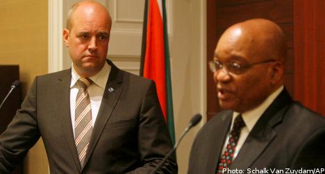 Sweden refuses SA request to drop Zimbabwe sanctions