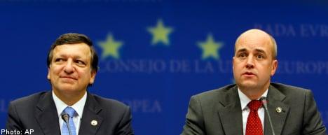 Reinfeldt to G20: 'Cap bank bonuses'
