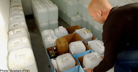 Swedes drinking more smuggled liquor