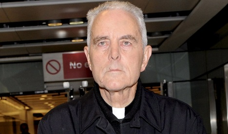 Prosecutors pursue charges against Holocaust denying Catholic bishop