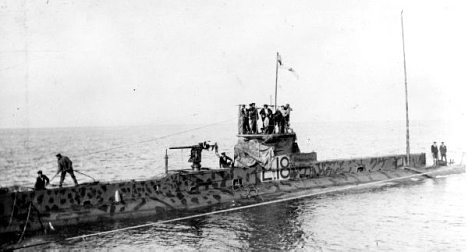 Swedes discover British WWI sub in Baltic Sea