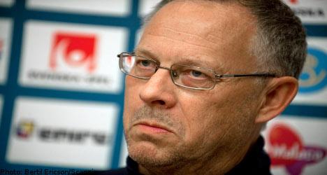 Swedish coach Lagerbäck resigns