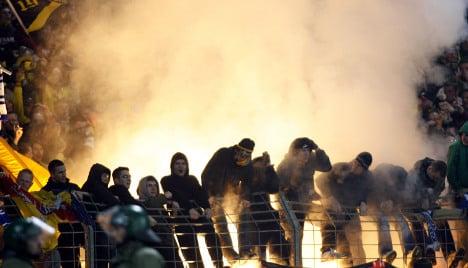 Police call for strict hooligan stadium ban