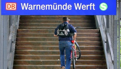 Three-quarters of German train stations wheelchair accessible