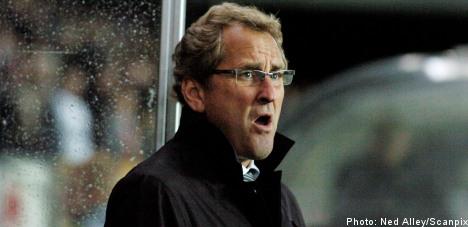 Hamrén ruled out for Sweden job
